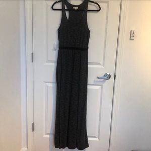 Silence and noise maxi dress